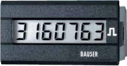 Bauser 3810.2.1.7.0.2 Digitaler Impulszähler Typ 3810, 115 - 240 V/AC Einbaumaße 45 x 22 mm