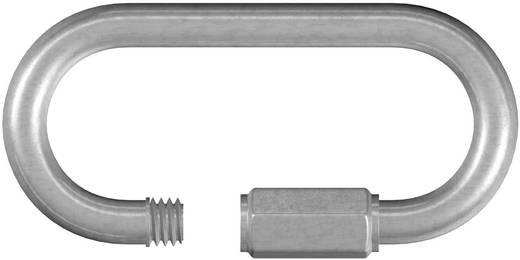 Kettennotglied mit Schraube 4 mm Stahl galvanisch verzinkt dörner + helmer 4815244 20 St.