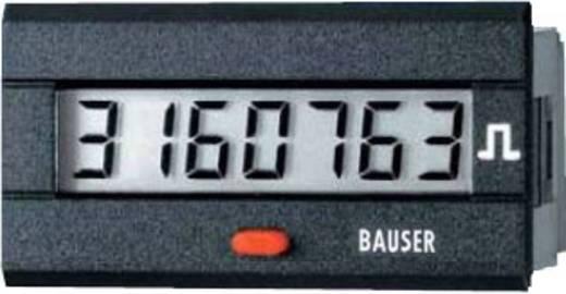 Bauser 3810.3.1.7.0.2 Digitaler Impulszähler Typ 3810, 115 - 240 V/AC Einbaumaße 45 x 22 mm