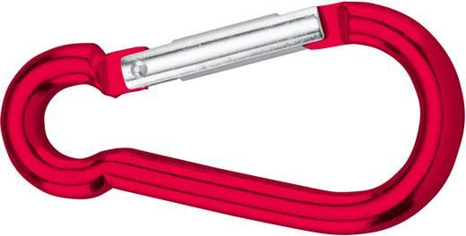 dörner + helmer 4815724 Karabinerhaken Aluminium rot eloxiert 60 mm 20 St.