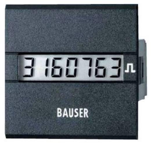 Bauser 3811.2.1.1.0.2 Digitaler Impulszähler Typ 3811, 12 - 24 V/DC Einbaumaße 45 x 45 mm