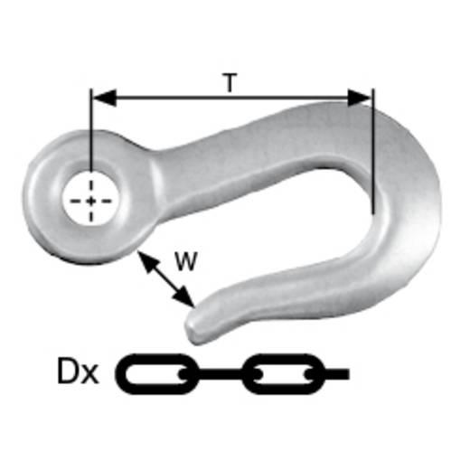 dörner + helmer Bindekettenhaken 8 mm Zinkdruckguss verzinkt 6 St.