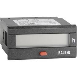Dvojitý čítač provozních hodin Bauser Twin BZ/BZ, 12 - 24 V/DC, 45 x 22 mm