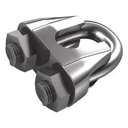 Káblová svorka dörner + helmer 4916184, 6 mm, nerezová ocel, 20 ks