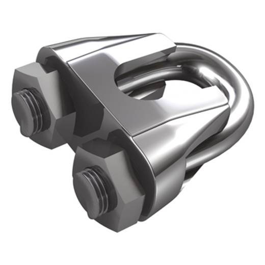 Seilklemme 11 mm Edelstahl A2 dörner + helmer 4916094 10 St.