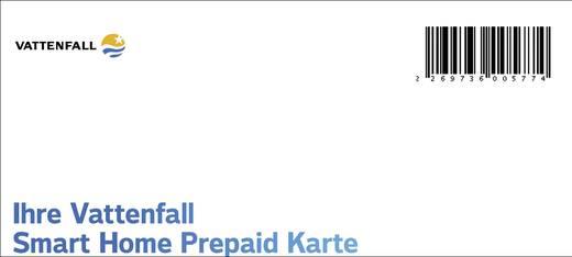 Vattenfall Smart Home Prepaid Karte für 6 Monate