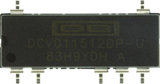 DC/DC-Wandler, SMD Texas Instruments DCV011512DP-U 41 mA 1 W Anzahl Ausgänge: 2 x