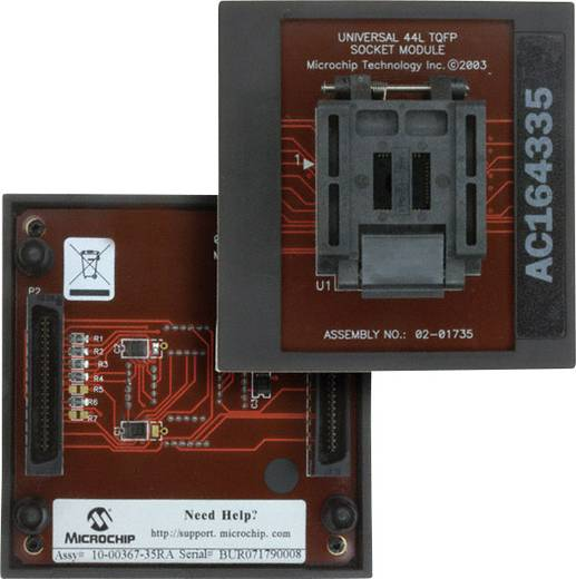 Entwicklungsboard Microchip Technology AC164335