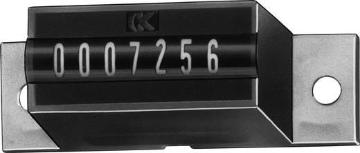 Kübler AK 07.00 12 V/DC Summierzähler Typ AK 07, 7stellig Einbaumaße 29 x 14 mm