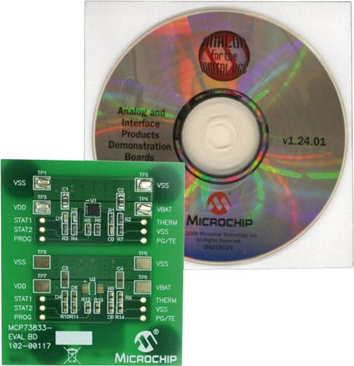 Entwicklungsboard Microchip Technology MCP73833EV