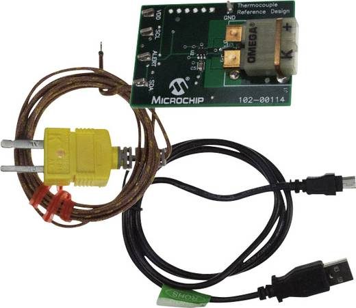 Entwicklungsboard Microchip Technology TMPSNSRD-TCPL1