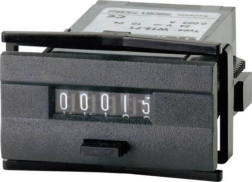 Kübler W 15.51 230 V/AC Mini Impulszähler Typ W 15.51, rückstellbar, - Einbaumaße 45 x 22.2 mm