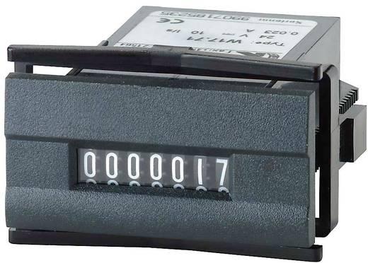Kübler W 17.50 230 V/AC Impulszähler Typ W 17.50, 7stellig Einbaumaße 45 x 22.2 mm
