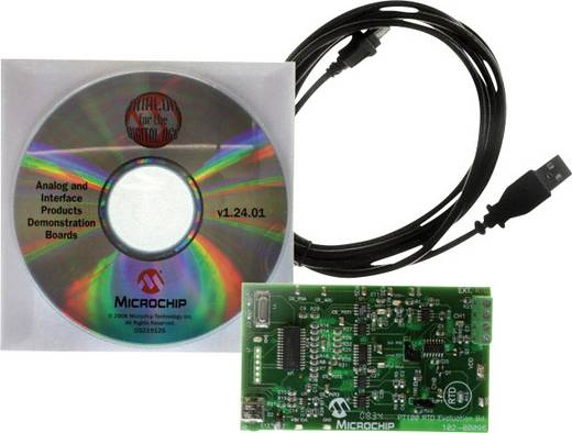 Entwicklungsboard Microchip Technology TMPSNS-RTD1