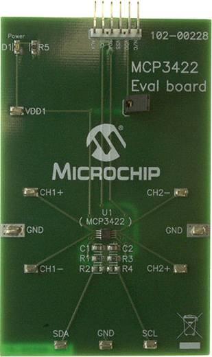 Entwicklungsboard Microchip Technology MCP3422EV