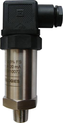 Drucksensor 1 St. 131S-10barG-4~20mA-0.5%fs-24V-siOil-316L-G1/4-DIN43650-IP65 0 bar bis 10 bar (Ø x H) 26 mm x 60 mm