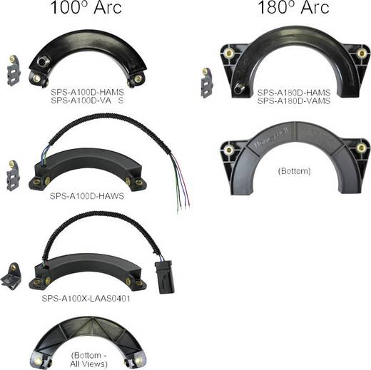 Honeywell SPS-A180D-VAMS Winkelsensor Messbereich: 0 - 180 ° M12, 4 polig