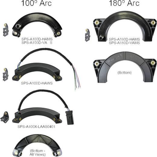 Winkelsensor Honeywell SPS-A100D-VAMS Messbereich: 0 - 100 ° M12, 4 polig