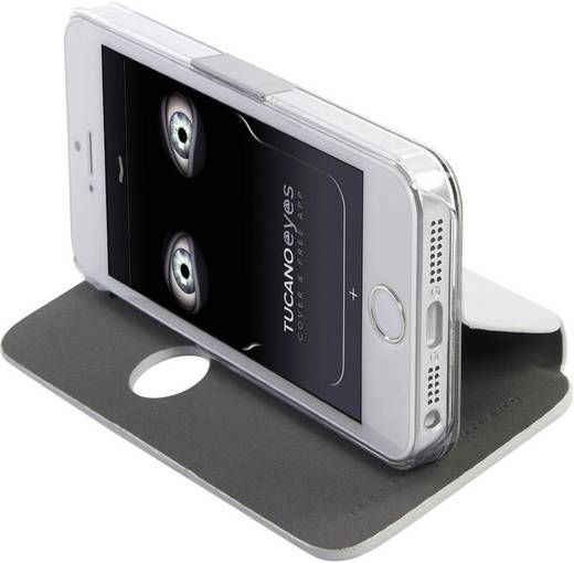 iPhone Tasche Tucano Passend für: Apple iPhone 5, Apple iPhone 5S, Silber