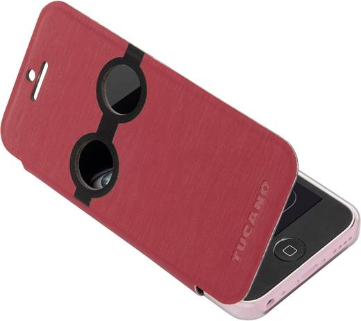 Tucano iPhone Tasche Passend für: Apple iPhone 5C, Rot