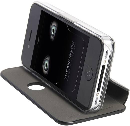 Tucano iPhone Tasche Passend für: Apple iPhone 4S, Schwarz