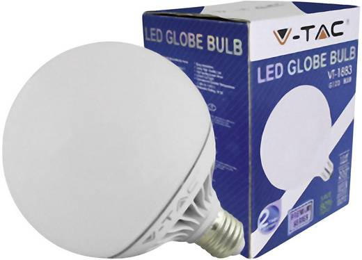 LED (einfarbig) E27 Glühlampenform 13 W = 75 W Warmweiß (Ø x H) 120 mm x 158.2 mm EEK: A V-TAC 1 St.