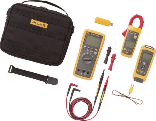 Stromzange, Hand-Multimeter digital Fluke FLK-3000 FC HVAC Kalibriert nach: Werksstandard (ohne Zertifikat) Grafik-Displ