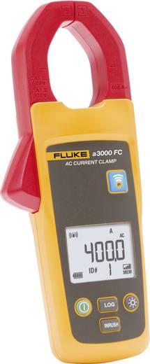 Stromzange digital Fluke FLK-a3000 FC Kalibriert nach: Werksstandard (ohne Zertifikat) Datenlogger CAT III 600 V Anzeige