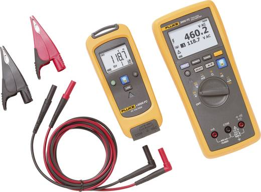 Fluke FLK-V3000 FC KIT Hand-Multimeter digital Kalibriert nach: Werksstandard (ohne Zertifikat) Grafik-Display, Datenlog