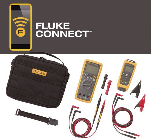 Hand-Multimeter digital Fluke FLK-V3000 FC KIT Kalibriert nach: Werksstandard (ohne Zertifikat) Grafik-Display, Datenlog