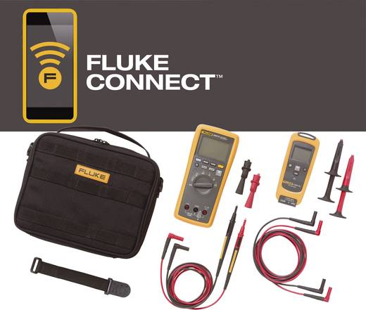 Hand-Multimeter digital Fluke FLK-V3001 FC KIT Kalibriert nach: Werksstandard (ohne Zertifikat) Grafik-Display, Datenlog