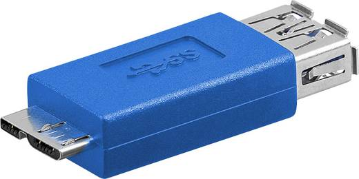Goobay USB Adapter [1x USB 3.0 Stecker Micro B - 1x USB 3.0 Buchse A] 94952