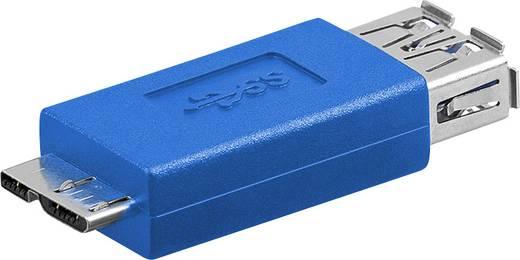 USB 3.0 Adapter [1x USB 3.0 Stecker Micro B - 1x USB 3.0 Buchse A] Blau Goobay