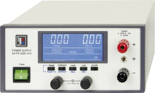 Labornetzgerät, einstellbar EA Elektro-Automatik EA-PS 5200-10 A 0 - 200 V 0 - 10 A 640 W USB Anzahl Ausgänge 1 x