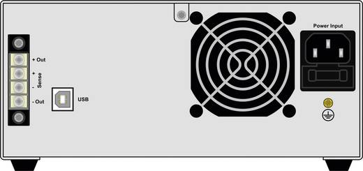 EA Elektro-Automatik EA-PS 5200-10 A Labornetzgerät, einstellbar 0 - 200 V/DC 0 - 10 A 640 W USB Anzahl Ausgänge 1 x