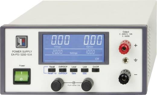 Labornetzgerät, einstellbar EA Elektro-Automatik EA-PSI 5200-02 A 0 - 200 V 0 - 2 A 160 W USB, Ethernet, Analog Anzahl