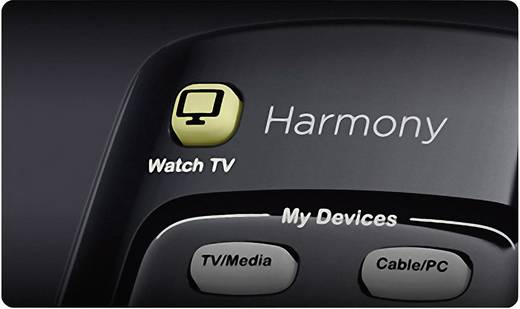 Logitech Harmony® 350 Infrarot Fernbedienung Schwarz