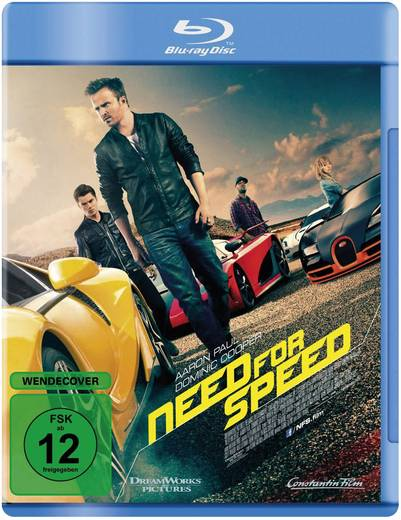 DVD Need for Speed FSK: 12