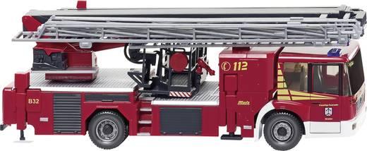 """Wiking 0628 47 H0 Mercedes Benz Econic Feuerwehr-Hubrettungsbühne Metz B32 """"Straelen"""""""