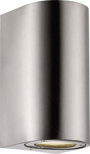 Außenwandleuchte Halogen GU10 70 W Nordlux Canto Maxi 77561034 Edelstahl