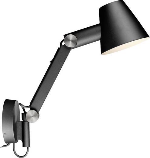 Wand-Nachttischlampe Halogen E27 60 W Nordlux Cult 78371003 Schwarz