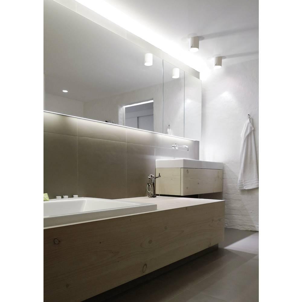 Lampada a soffitto per bagno led gu10 8 w nordlux s4 78511001 bianco in vendita online - Lampada bagno soffitto ...