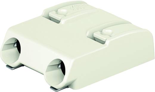 Federkraftklemmblock 0.75 mm² Polzahl 2 WAGO Weiß 1 St.