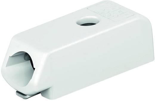 WAGO Federkraftklemmblock Polzahl 1 Weiß 1 St.