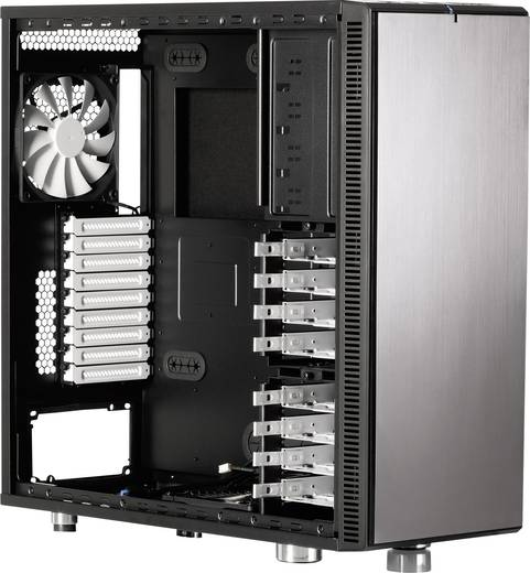 tower pc geh use fractal design define xl r2 titanium grey titan grau kaufen. Black Bedroom Furniture Sets. Home Design Ideas