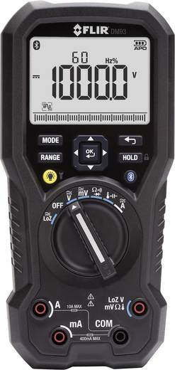 FLIR DM93 Hand-Multimeter digital Kalibriert nach: DAkkS CAT III 1000 V