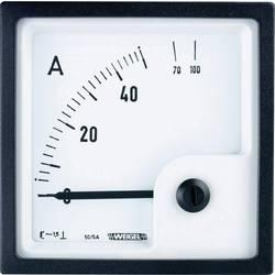 Analogové panelové měřidlo Weigel EQ72K 50/5A 50 A/AC (5A)
