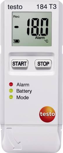 Temperatur-Datenlogger testo 184 T3 Messgröße Temperatur -35 bis +70 °C Kalibriert nach Werksstandard (ohne Zert