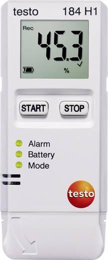 Multi-Datenlogger testo 184 H1 Messgröße Temperatur, Luftfeuchtigkeit -20 bis 70 °C 0 bis 100 % rF Kalibriert nac