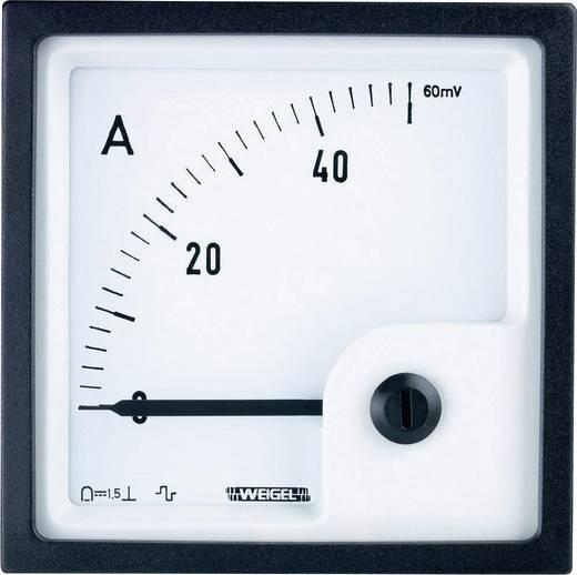 Weigel PQ96K 4-20MA Schalttafel-Einbauinstrument mit Drehspulmesswerk 0-100% (4 - 20 mA) Drehspule
